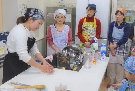 """米粉を使った""""パン作り教室""""をしました!"""